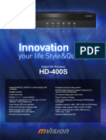 Mvision Hd-400s Leaflet Version 2010