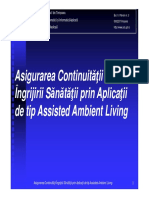 8.2 Exemplu de Sistem Ambient Assisted Living - TELEASIS