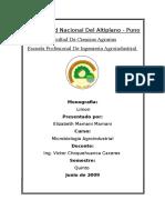 Caratula de Microbiologia Agroindustrial