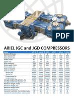 Compresor Ariel JGC