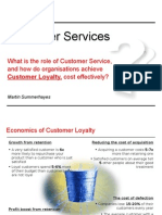 Customer Service Life Cycle - How to link customer experience across the customer buying & using lifecycle