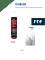 manual de nokia e63 en espanol