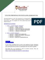 SpellBee International - State Level -Preparation Tips 2016-17-1 (1)