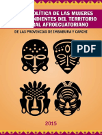 Agenda Política de las Mujeres Afrodescendientes del Territorio Ancestral Afroecuatoriano de las províncias de Imbabura y Carchi