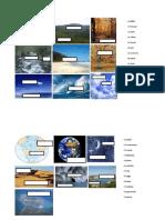 Vocabulario - descripciones de paisajes