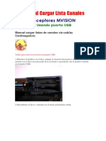 Man Carga Listas Canales USB Mvision