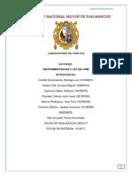 Informe 4 Instrumentacion y Ley de Ohm