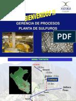 Planta Sulfuros Tintaya Flotacion