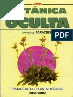Botanica Oculta-Teorias de Paracelso