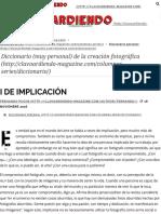 I de Implicación - Clavoardiendo Magazine