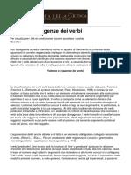 Accademia Della Crusca - Valenze e Reggenze Dei Verbi - 2015-01-16