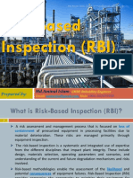 Risk Based Inspection -RBI