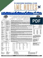 6.12.17 vs. JAX Game Notes