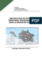 Metodologia_GTI Gore Aysen