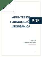 FORMULACION QUIMICA 3ESO