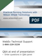 Wilson Tool Wheel Tool Webinar