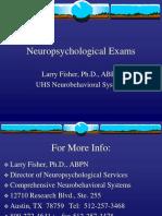Neuropsychology Exams