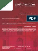 Magister en Interpretacion Musical PDF 565 Kb