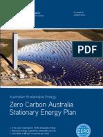 Zero Carbon Australia  - 2020 Stationary Energy Report v1