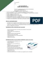 Lista de Materiales Primeros 2015