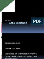 Case Summary of Umeh Stanley