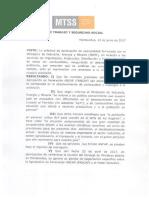 Comunicado resolución esencialidad de Ancap