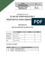 Pe - Plan de Preparacion y Respuesta Para Emergencias - Prodimin