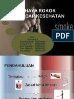 Bahaya rokok ppt