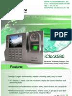 ctrl de acceso ZK TAC4900(iCLOCK580)