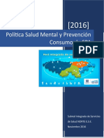 Politica Salud Mental Subred Norte