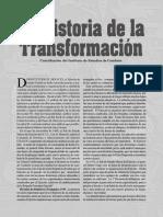 La Historia de la Transformación