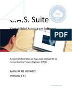 Manual de Usuario CAS Suite