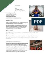 CARACTERISTICAS FISICAS MASCULINAS