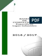Bases Especificas Infantiles 2016-2017