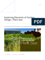 Exploring Elements of Garden Design _ Plant Size _ Lurie Garden