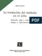 Formación Del Símbolo en El Niño - J Piaget