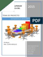 Proyecto de Estadistica Parcial 1 ESPOL