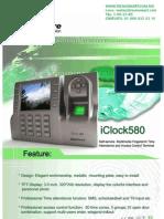 ctrl de acceso ZK TAC4902(iCLOCK580W)