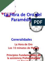 La Hora de Oro Del Paramedico