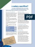 Uk Salary Sacrifice Information