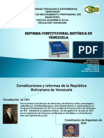 Diapositivas de La Costitución Nacional y Sus Reformas (Ciudadanía)