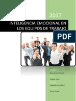 Inteligencia Emocional en Los Equipos de Trabajo