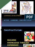 1. Learning Development Construcivism.