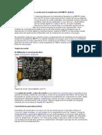 Historia de Las Tarjetas de Sonido Para La Arquitectura Del IBM PC