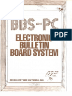 Bbs-Pc Electronic Bulletin Board System V4.03