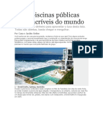 As 10 Piscinas Públicas Mais Incríveis Do Mundo