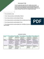 assessment task