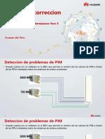 Medicion - Correccion de PIM - Huawei