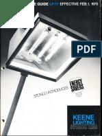 Stonco Illustrated Price Guide LP-17 1975