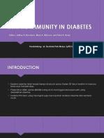 Imunodefisiensi in Diabetes